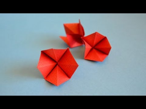 Origami Blossom Instructions: www.Origami-Fun.com - YouTube - photo#40