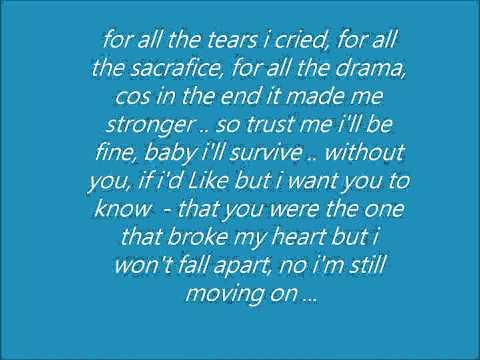 Jordan Taylor - Strong w\lyrics