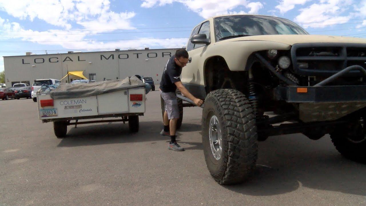 Solid Axle Swap Dakota Camper