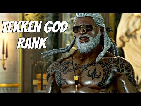 TEKKEN 7 - Leroy Smith Online Ranked Matches 7 - Getting True TEKKEN God Rank (PS4 Pro)
