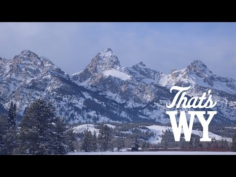 Enjoy a Cool View of the Grand Teton Mountain Range