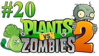 Растения против зомби 2 Прохождение Египет 20, 21