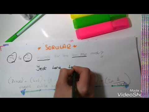 6.sınıf Matematik 2.dönem 1. Yazılıya Hazırlık