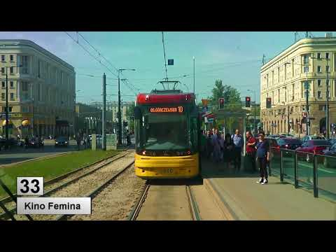 Tramwaje Warszawa linia 33