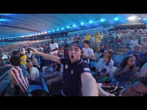 How I Got Into Olympic Opening Ceremonies Without Anyone Looking at My Ticket - Road To Rio Day 4