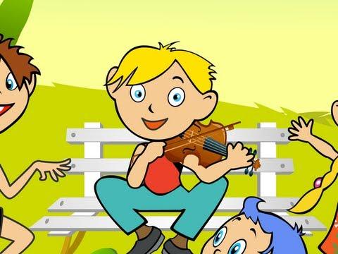 C'est Gugusse avec son violon