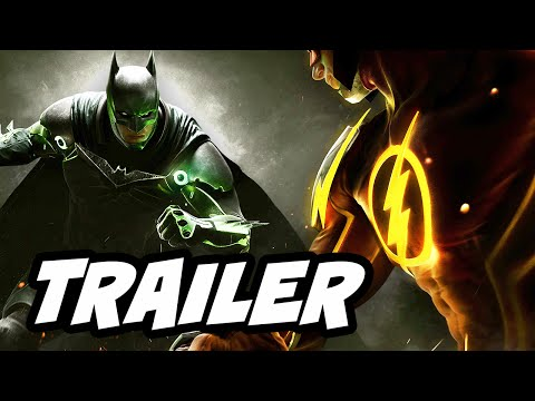 injustice 2 trailer breakdown  the flash vs superman