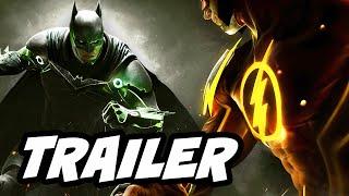 Injustice 2 Trailer Breakdown - The Flash vs Superman
