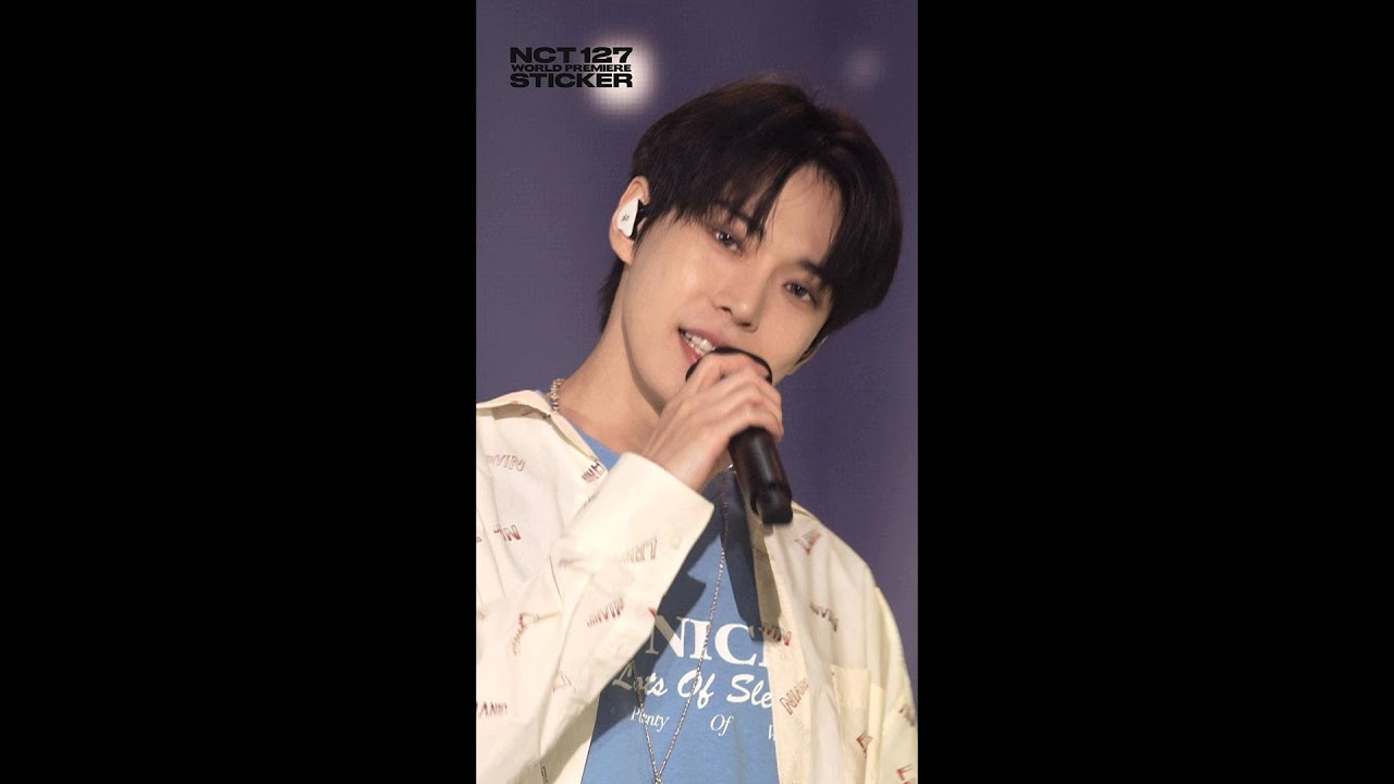 【NCT 127 WORLD PREMIERE STICKER】 Spoiler 12.7 Sec. #DOYOUNG #Road_Trip