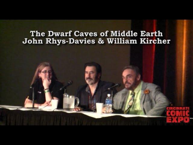 John Rhys-Davies & William Kircher Panel