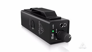 POWERPLAY P2 | Personal In-Ear Monitor Amplifier