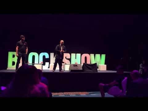 Electrify.Asia at Blockshow Asia 2017's ICOscars ( QnA )