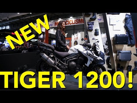 2018 Triumph Tiger 1200 First Look