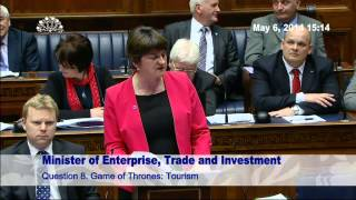 Question Time: Enterprise, Trade and Investment 06 May 2014