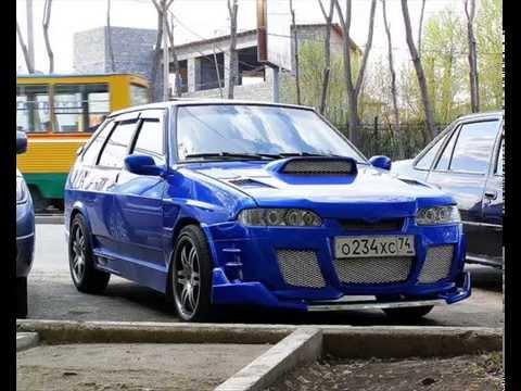 ТЮНИНГ ВАЗ 2114 #7 [TOP CARS] Пацанский ваз - YouTube