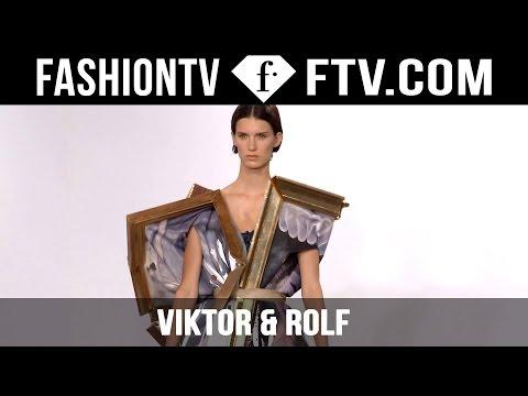 Viktor & Rolf Designer's Inspiration   Paris Haute Couture Fall/Winter 2015/16   FashionTV