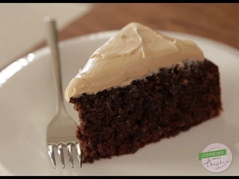 Cooking with Phyllis: Mocha Oatmeal Cake