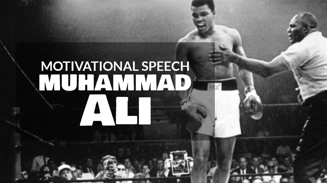 muhammad ali s speech