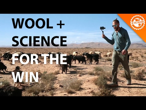 Learn the Science of Wool, combined with Synthetics