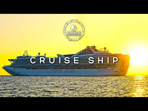 CRUISE SHIP WHITE NOISE, CRUISE SHIP SOUNDS, BOAT SOUNDS, BOAT ENGINE SOUND EFFECTS SLEEP 8 HOURS