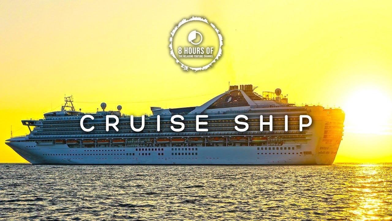 CRUISE SHIP WHITE NOISE CRUISE SHIP SOUNDS BOAT SOUNDS BOAT - Cruise ship sound effects