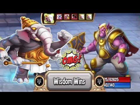 ● Monster Legends - Gakora level 130 vs Shannara's Bodyguard Good support