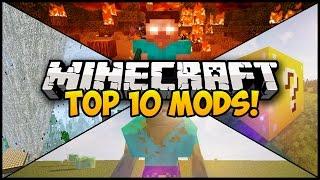 TOP 10 MINECRAFT MODS FOR MINECRAFT 1.8! (Minecraft Top 10 Mods) (Minecraft Mod Showcase)