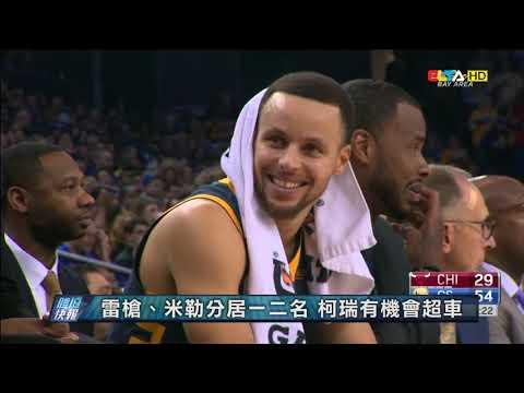 愛爾達電視20190112│【咖哩神射】NBA柯瑞生涯2285顆三分彈 超越泰瑞獨居史上第三