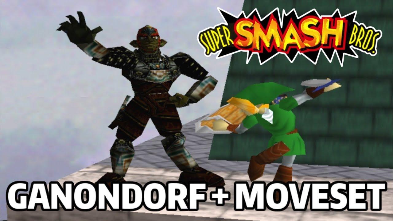 Download Ganondorf with Moveset in Super Smash Bros. 64! (Mods)
