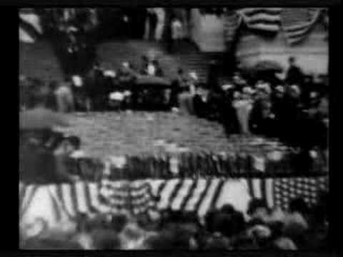 President McKinley Taking the Oath (Edison, 1901)