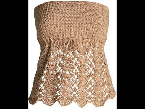 Crochet Blouse For Free Crochet Patterns 1996 Youtube