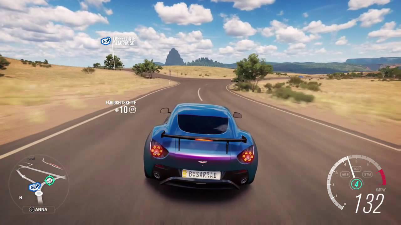 Forza Horizon 3 Aston Martin V12 Zagato - YouTube