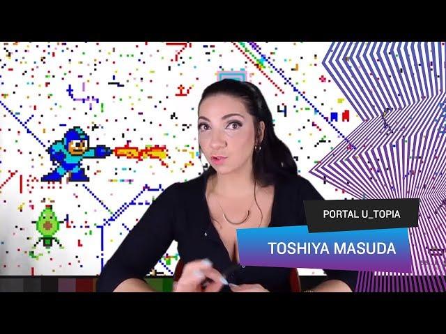 Portal U_topia - Toshiya Masuda, fã de video games ganha a vida esculpindo pixels