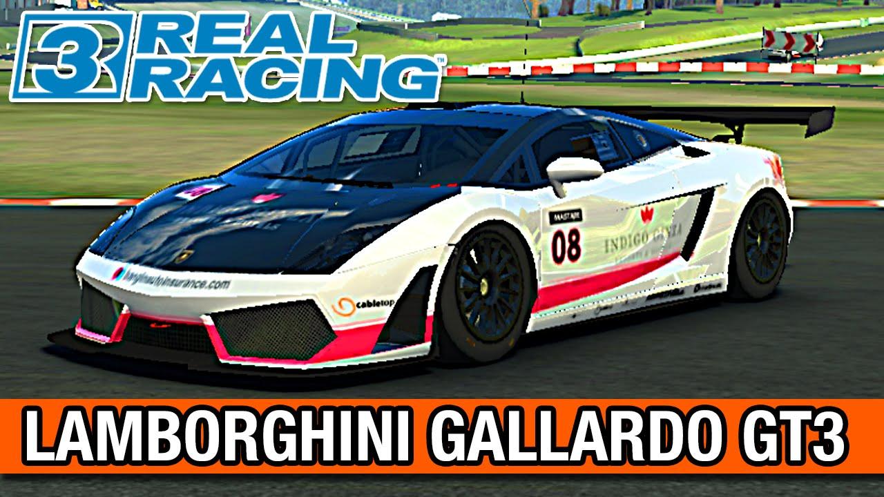 Real Racing 3   CARRO DOS SONHOS LAMBORGHINI GALLARDO LP560 GT3   PT BR #66
