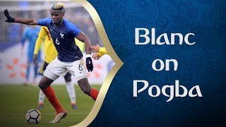 Blanc talks Pogba