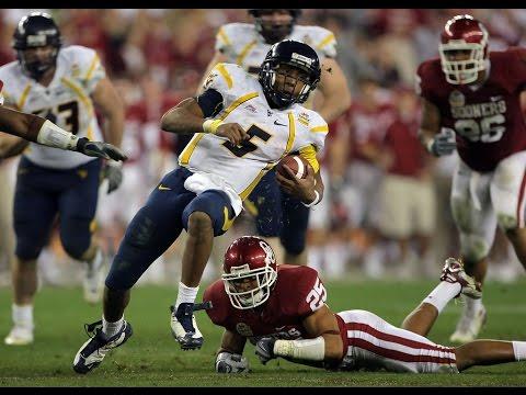 2008 Fiesta Bowl West Virginia vs Oklahoma Speed Game ...