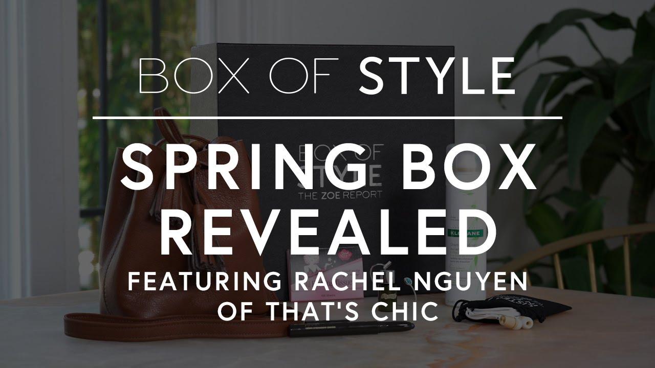 Spring Box Of Style Revealed