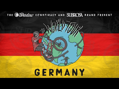 Shadow and Subrosa BMX World Tour in Germany