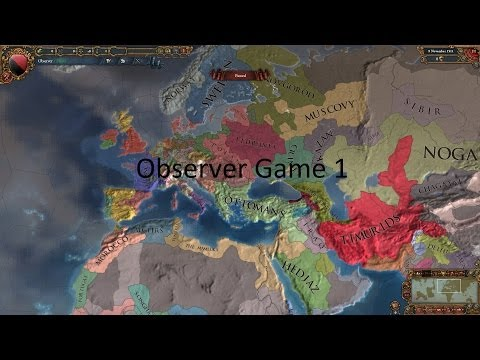 EU4 Observer Game 1 Part 4