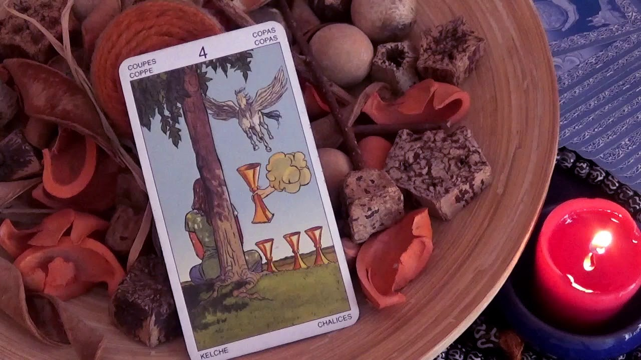 ASMR/ What The FOUR OF CUPS is Trying To Tell YOU