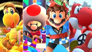 Mario Kart Tour - All New Year's Tour Characters