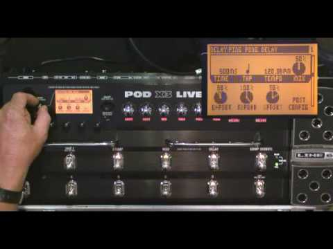 Line6 POD X3-Live Video Demo IV Part 2 By Glenn Delaune