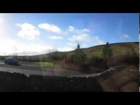 England border crossing from Scotland