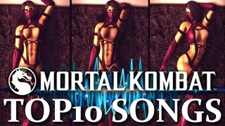Mortal Kombat Music! TOP 10 Songs and Remixes 1992 - 2015! MKX Music: Electro, Techno, Dubstep, EBM!