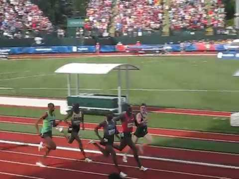 Rupp Lagat Lomong Jenkins Mead - 5k Round 1 Heat 2, 2016 U.S. Olympic Track & Field Trials
