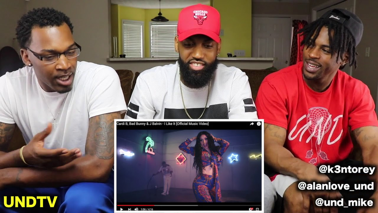Cardi B, Bad Bunny & J Balvin - I Like It [Official Music Video] [REACTION] #1