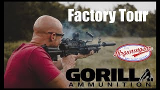 Gorilla Ammunition Factory Tour & Range Day 🇺🇸