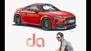 DANIEL ABT AUDI TT RS-R DRAWING