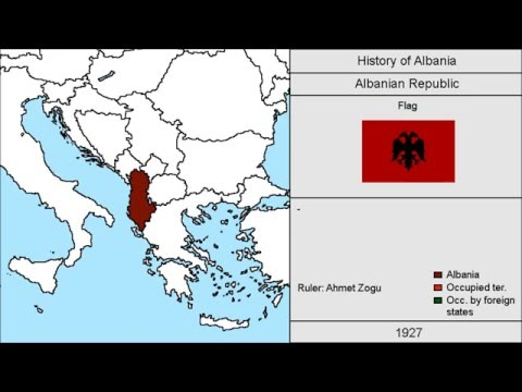 History of Albania: Every Year