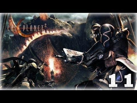 Смотреть прохождение игры [Coop] Lost Planet 2. Серия 11 - Субмарина смерти.